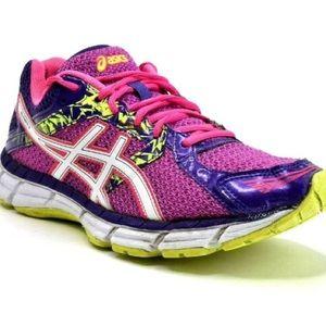 ASICS Gel Excite 3 running shoes punk purple neon